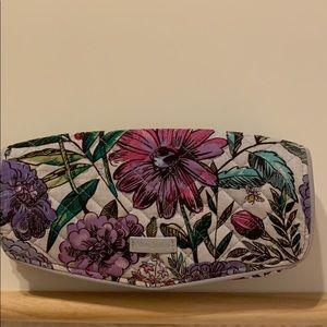 Vera Bradley round cosmetic bag